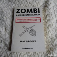 Livros em segunda mão: ZOMBIE, GUÍA DE SUPERVIVENCIA - MAX BROOKS. Lote 240877995
