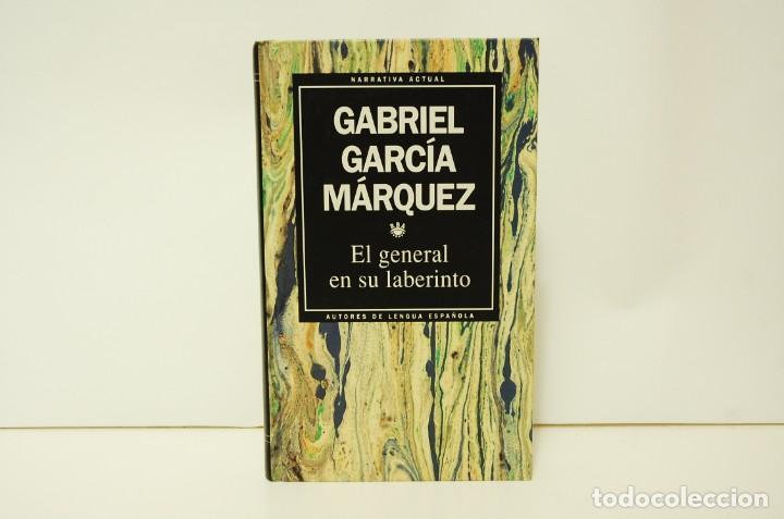 GABRIEL GARCÍA MÁRQUEZ - EL GENERAL EN SU LABERINTO (Libros de Segunda Mano (posteriores a 1936) - Literatura - Narrativa - Otros)
