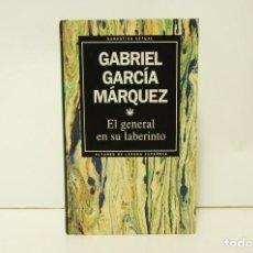 Libros de segunda mano: GABRIEL GARCÍA MÁRQUEZ - EL GENERAL EN SU LABERINTO. Lote 241331885