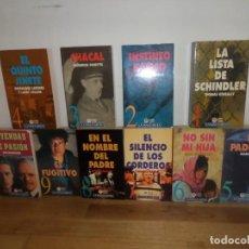 Livros em segunda mão: CINE PARA LEER - LOTE 10 LIBROS - NOVELAS - DISPONGO DE MAS LIBROS. Lote 241463595
