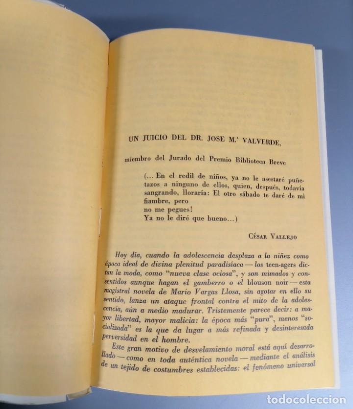 Libros de segunda mano: LA CIUDAD Y LOS PERROS - MARIO VARGAS LLOSA - 1963 - Foto 3 - 241762480