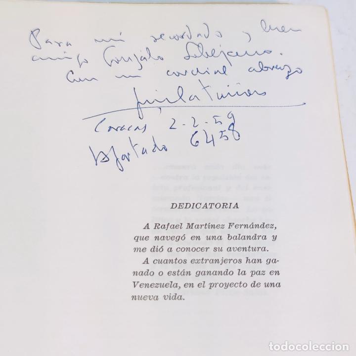 Libros de segunda mano: Una balandra encalla en tierra firme. Novela de emigrantes. Jose Manuel Castañón. Ediciones Paraguac - Foto 3 - 241764545