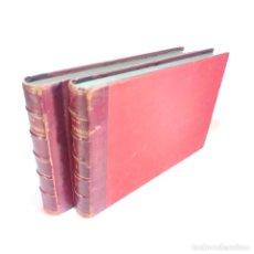 Libros de segunda mano: OBRAS COMPLETAS DE FLAXMAN. 2 TOMOS. DON JOAQUÍN PI Y MARGALL. MADRID. M. RIVADENERYRA. 1860.. Lote 241777065