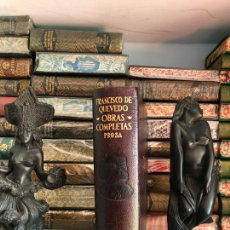 Libros de segunda mano: FRANCISCO QUEVEDO - PROSA - AGUILAR - OBRAS ETERNAS. Lote 241797535