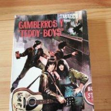 Libros de segunda mano: GAMBERROS Y TEDDY-BOYS, HELMUT VON SOHEL, FERMA 1966, LIBRO. Lote 242074805