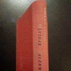 Libros de segunda mano: OLVIDAR PALERMO - EDMONDE CHARLES-ROUX **TAPA DURA. Lote 242227420