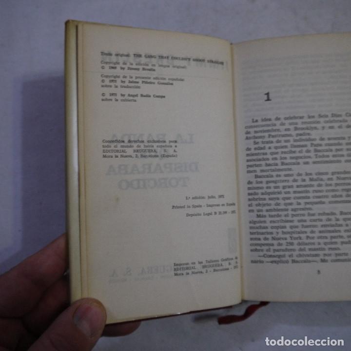 Libros de segunda mano: LOTE 4 NOVELAS DE BRUGUERA. TAPA DURA Y CUBIERTA GUAFLEX - 1971 - 1.ª EDICION - Foto 7 - 242344185