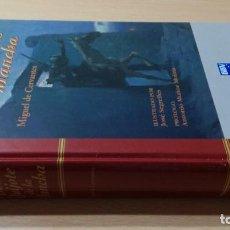 Libros de segunda mano: DON QUIJOTE DE LA MANCHA / MIGUEL DE CERVANTES - ILUSTRADO SERGELLES / BBVA / LL601. Lote 242493375