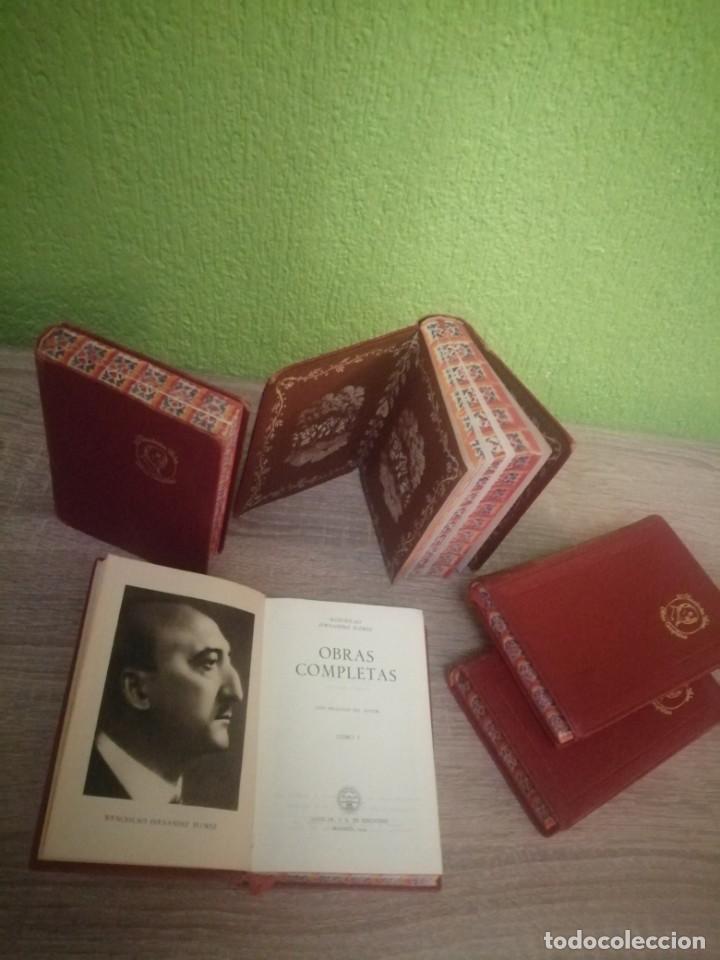 OBRAS COMPLETAS 5.TOMOS EDITORIAL AGUILAR 1954-55-56 (Libros de Segunda Mano (posteriores a 1936) - Literatura - Narrativa - Otros)