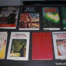 Libros de segunda mano: LOTE 9 NOVELAS (VER TÍTULOS Y PORTADAS). Lote 242964360