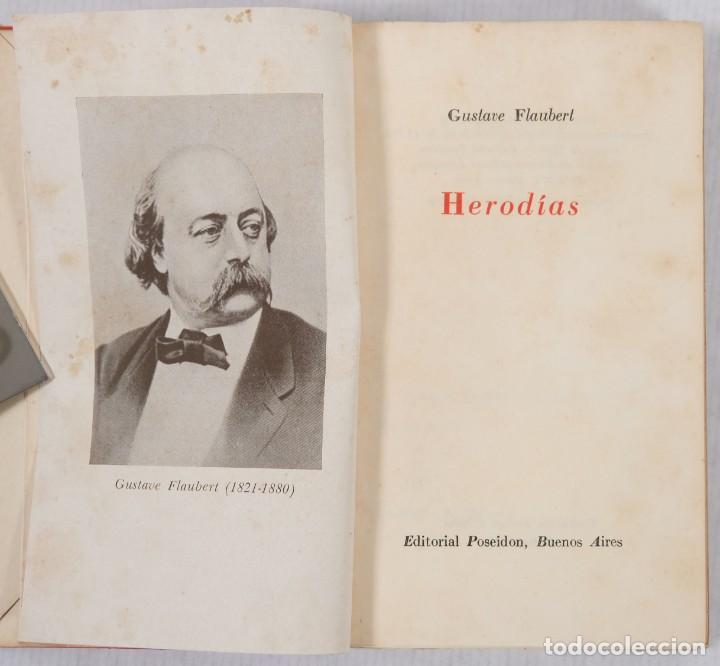 Libros de segunda mano: Heroídas-Gustave Flaubert-Editorial Poseidon 1946 - Foto 4 - 242970835
