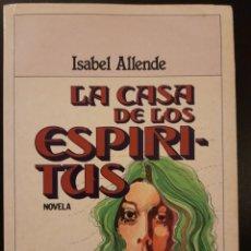 Libros de segunda mano: LA CASA DE LOS ESPIRITUS - ISABEL ALLENDE **TAPA BLANDA. Lote 243306255