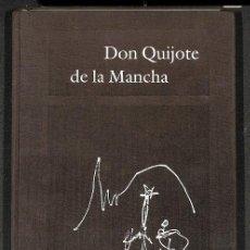 Libros de segunda mano: DON QUIJOTE DE LA MANCHA ILUSTRADO POR ANTONIO SAURA PRIMERA PARTE. Lote 162744373