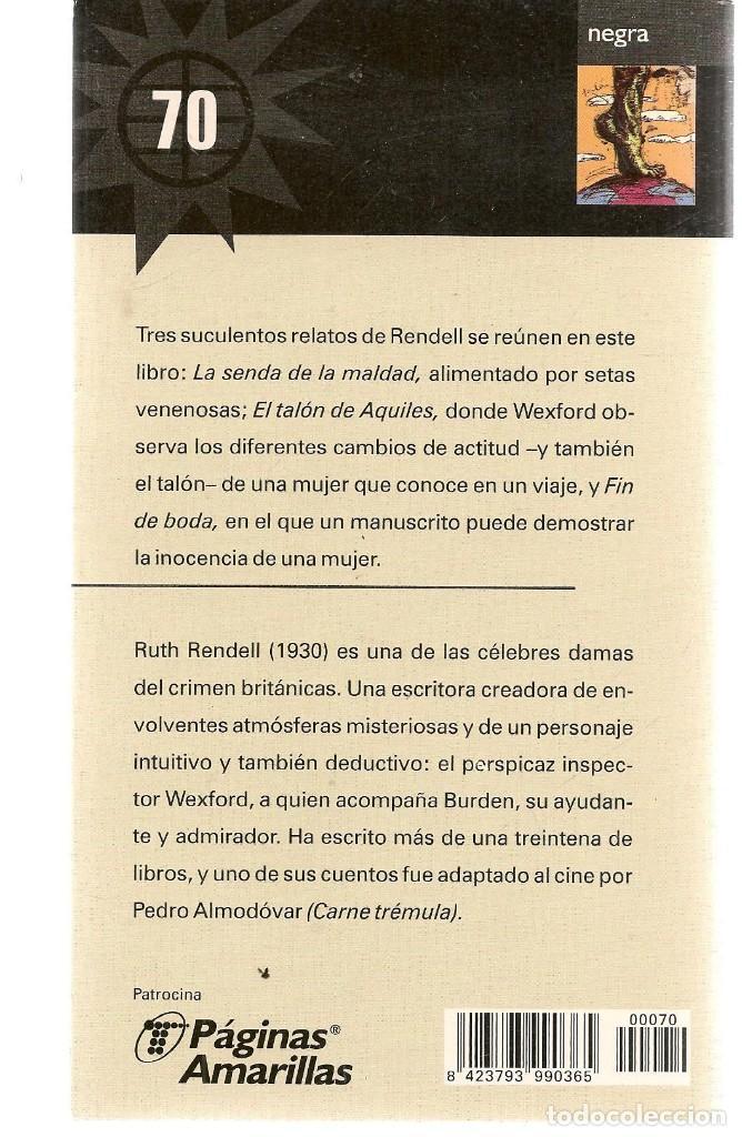 Libros de segunda mano: LAS NOVELAS DEL VERANO. Nº 70. EL TALÓN DE AQUILES. RUTH RENDELL. EL MUNDO.(ST/C35) - Foto 2 - 243606890