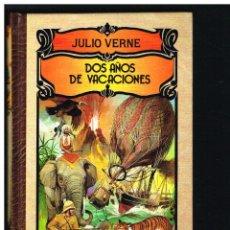 Libros de segunda mano: DOS AÑOS DE VACIONES - JULIO VERNE - 1991 - CON ILUSTRACIONES. Lote 243882390