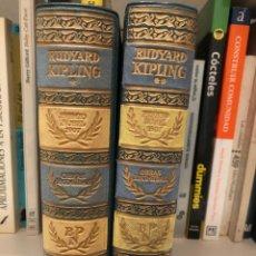 Libros de segunda mano: OBRAS ESCOGIDAS. RUDYARD KIPLING . AGUILAR. COLECCIÓN PREMIOS NOBEL. 2 TOMOS.. Lote 243910285