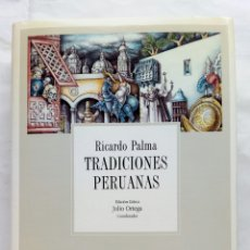 Libros de segunda mano: TRADICIONES PERUANAS. RICARDO PALMA.. Lote 243913355