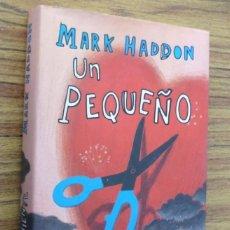 Libros de segunda mano: UN PEQUEÑO INCONVENIENTE - MARK HADDON - ED, ALFAGUARA 2007. Lote 243913435
