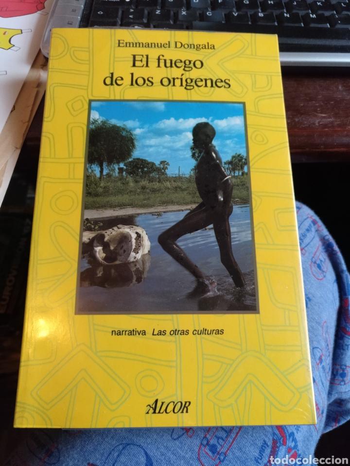 EMMI DONGALA EL FUEGO DE LOS ORÍGENES. ALCOR 1989 (Libros de Segunda Mano (posteriores a 1936) - Literatura - Narrativa - Otros)