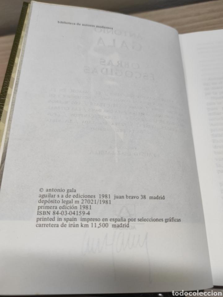 Libros de segunda mano: Lote Aguilar Eugene Ionesco obras completas y Antonio Gala obras escogidas. Sin uso - Foto 3 - 244416415