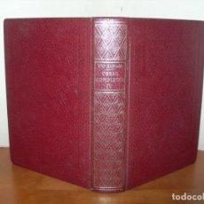 Libros de segunda mano: OBRAS COMPLETAS IV / PÍO BAROJA. Lote 244419440