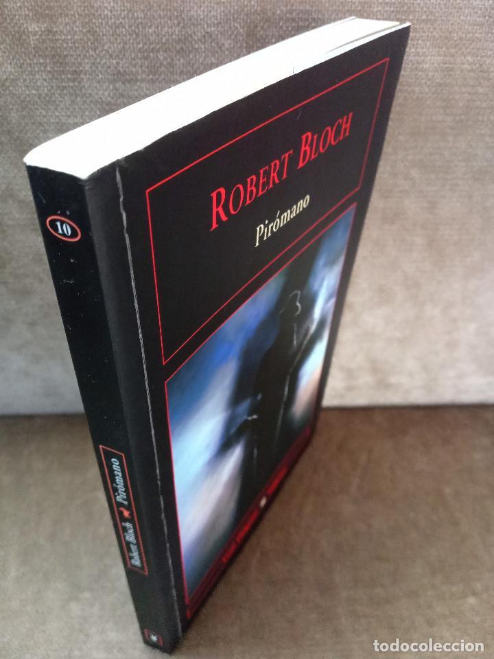 Libros de segunda mano: ROBERT BLOCH - PIRÓMANO - VALDEMAR, 2007 - GRAN DIÓGENES - Foto 2 - 244472540
