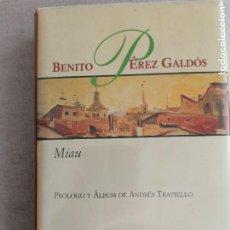 Libros de segunda mano: MIAU (BIBLIOTECA 30 ANIVERSARIO) ) - PEREZ PEREZ GALDOS BENITO ALIANZA 30. Lote 244493595