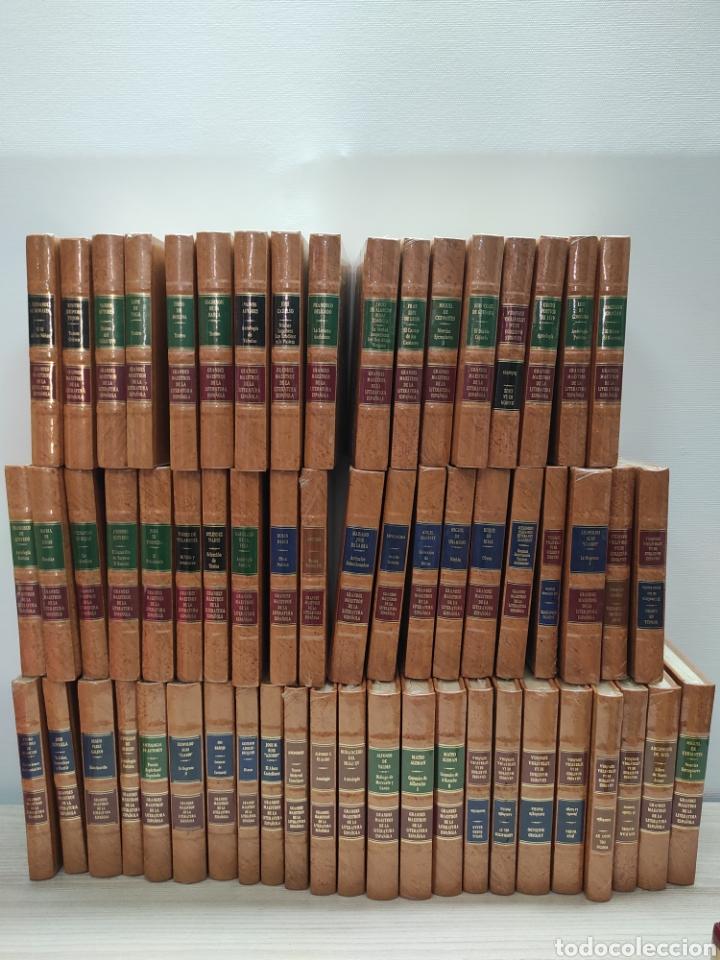 LOTE 60 LIBROS GRANDES MAESTROS DE LA LITERATURA ESPAÑOLA (Libros de Segunda Mano (posteriores a 1936) - Literatura - Narrativa - Otros)