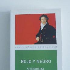 Libros de segunda mano: ROJO Y NEGRO. STENDHAL. AKAL.. Lote 244519515