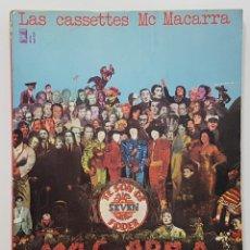 Libros de segunda mano: LAS CASSETTES DE MC MACARRA. AKAL 1973 (UNDERGROUND, CHELI, LENGUAJE DE CALLE, FRIKI). Lote 244524170