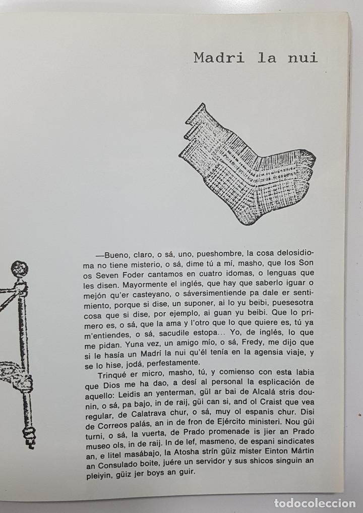 Libros de segunda mano: LAS CASSETTES DE MC MACARRA. AKAL 1973 (underground, cheli, lenguaje de calle, friki) - Foto 5 - 244524170