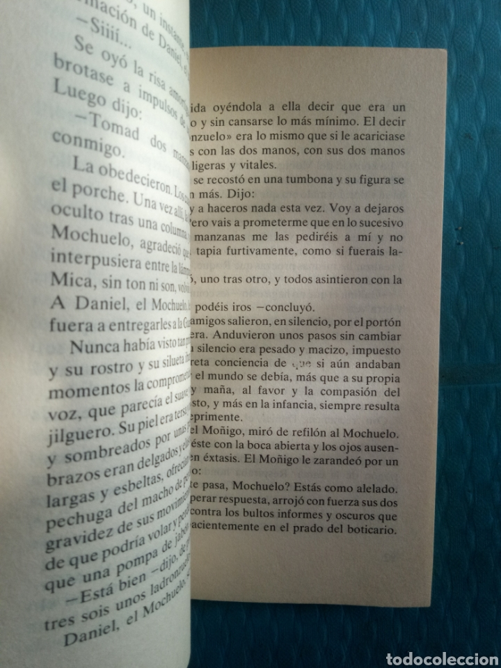 Libros de segunda mano: MIGUEL DELIBES : EL CAMINO. EDICIONES DESTINO, CUARTA EDICIÓN ABRIL 1983 - Foto 2 - 244706060