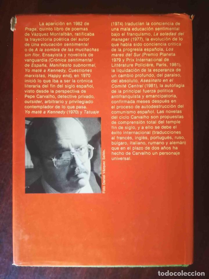 Libros de segunda mano: Los pájaros de Bangkok (Manuel Vázquez Montalbán) Planeta 1983 - Foto 2 - 244782155