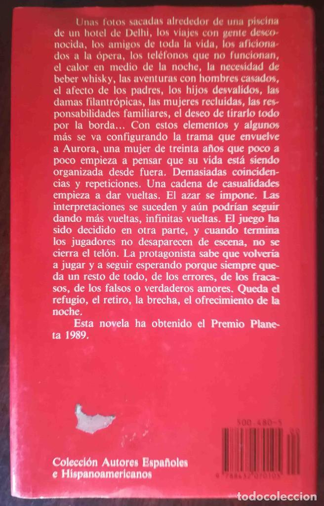 Libros de segunda mano: Queda la noche (Soledad Puértolas) Planeta 1989 - Foto 2 - 244782410