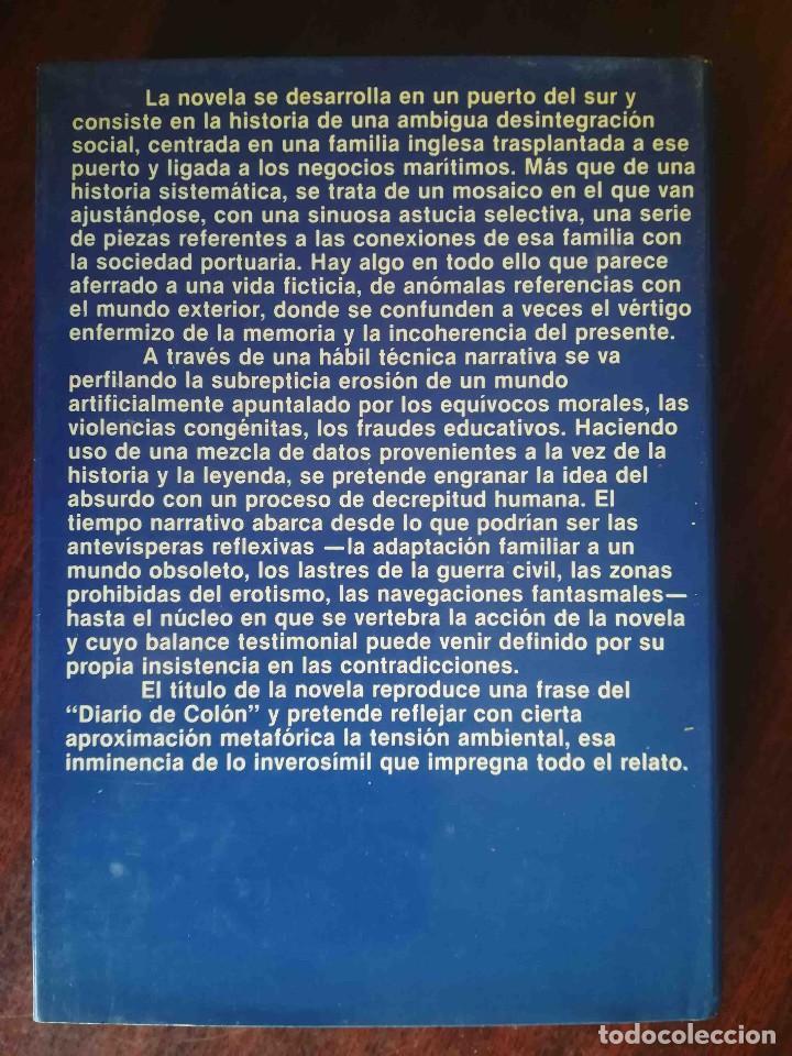 Libros de segunda mano: Toda la noche oyeron pasar pájaros (José Manuel Caballero Bonald) Planeta 1983 - Foto 2 - 244782480