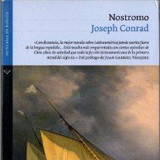 Livres d'occasion: NOSTROMO. JOSEPH CONRAD. ED. NORMA 2007. 538 PÁGS. TAPA BLANDA CON SOLAPAS.. Lote 244790570
