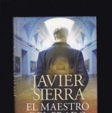 Libros de segunda mano: JAVIER SIERRA - EL MAESTRO DEL PRADO - EDITORIAL PLANETA 2013 / 1ª EDICION - ILUSTRADO. Lote 244838685