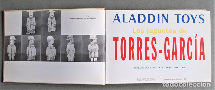Libros de segunda mano: Aladdin Toys - Los Juguetes De Torres-García - Foto 2 - 244983935