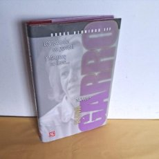 Libros de segunda mano: ELENA GARRO - OBRAS REUNIDAS III, LOS RECUERDOS DEL PORVENIR Y MATARAZO NO LLAMÓ... - 2010. Lote 245093390