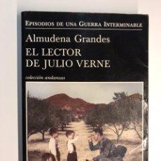 Libros de segunda mano: EL LECTOR DE JULIO VERNE, POR ALMUDENA GRANDES. TUSQUETS EDITORES... (A.2012). Lote 245268990