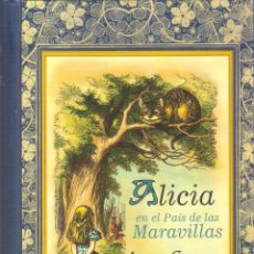 Libros de segunda mano: ALICIA EN EL PAIS DE LAS MARAVILLAS - LEWIS CARROLL. Lote 245291635