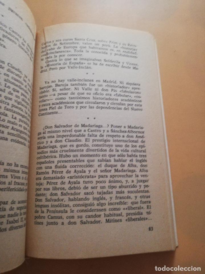 Libros de segunda mano: CONTRA UNAMUNO Y LOS DEMAS. JOAN FUSTER. EDICIONES DE BOLSILLO. 1975. PAG. 163. - Foto 4 - 245417100