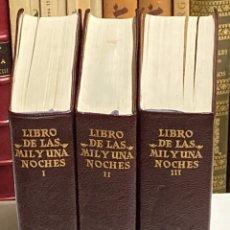 Libros de segunda mano: AÑO 1969 - LIBRO DE LAS MIL Y UNA NOCHES - AGUILAR OBRAS ETERNAS 1ª EDICIÓN ESPAÑOLA. Lote 245440050