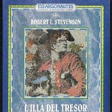 Libros de segunda mano: L'ILLA DEL TRESOR - IDIOMA CATALÁN. Lote 245447640