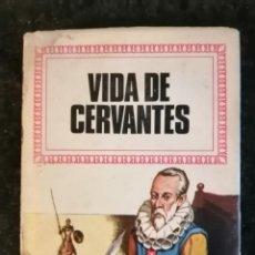 Libros de segunda mano: MEUNIER VIDA DE CERVANTES. Lote 245560880