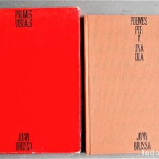 Libros de segunda mano: JOAN BROSSA. POEMES VISUALS. POEMES PER A UNA ODA.. Lote 245574465