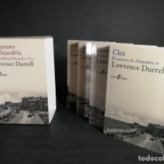 Libros de segunda mano: EL CUARTETO DE ALEJANDRÍA JUSTINE, BALTHAZAR, MOUNTOLIVE, CLEA LAWRENCE DURRELL POCKET EDHASA 4 TOMO. Lote 245760965