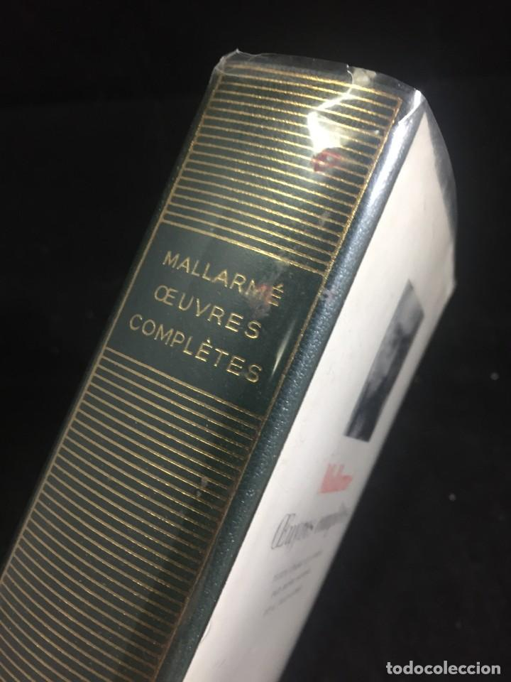 Libros de segunda mano: STHEPANE MALLARMÉ OEUVRES COMPLETES, LA PLEIADE, 1.659 PAGS. 1979 - Foto 2 - 245762330