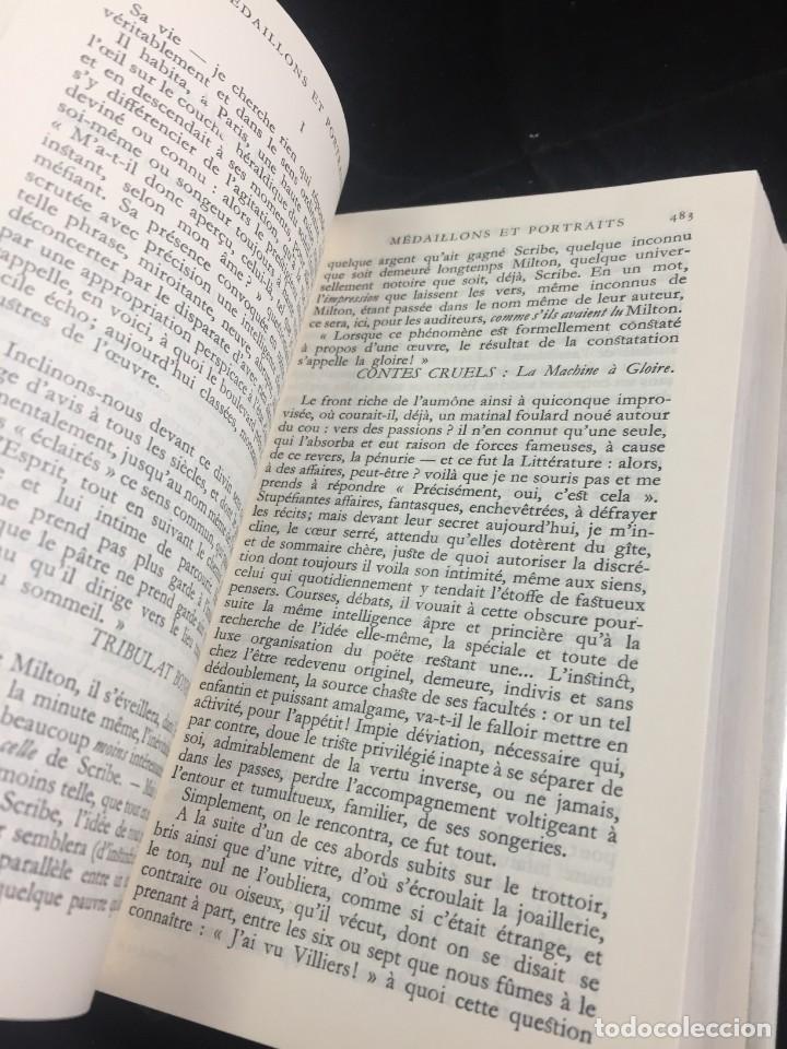 Libros de segunda mano: STHEPANE MALLARMÉ OEUVRES COMPLETES, LA PLEIADE, 1.659 PAGS. 1979 - Foto 4 - 245762330