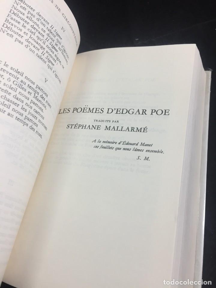 Libros de segunda mano: STHEPANE MALLARMÉ OEUVRES COMPLETES, LA PLEIADE, 1.659 PAGS. 1979 - Foto 7 - 245762330